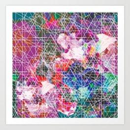 SCRATCHY TROPO Art Print