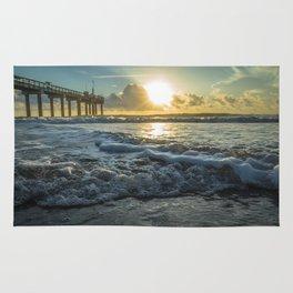 Saint Augustine Beach Sunrise Rug