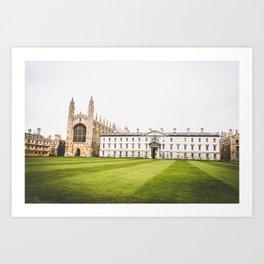 King's College, Cambridge Art Print