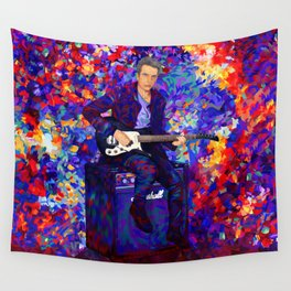 12th Doctor abstract art Wall Tapestry