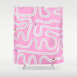 Speed Racers Shower Curtain