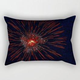 Marina Fireworks 2018 view 2 Rectangular Pillow