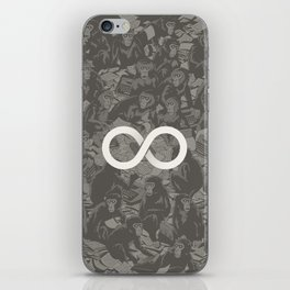 Infinite Monkey Theorem iPhone Skin