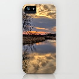Easter River iPhone Case