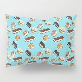 Android Eats: ice cream sandwich pattern Pillow Sham