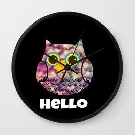 owl-129 Wall Clock