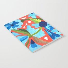 Floral Folk  Notebook