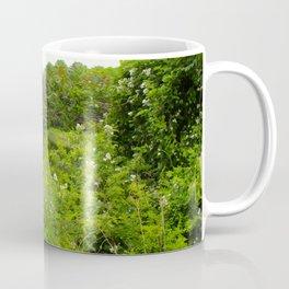 Wild Flowers on the lake Coffee Mug