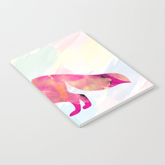 Abstract Fox Notebook