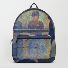 Georges Seurat Circus Sideshow Backpack