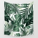 Tropical Jungle Leaves Pattern #4 #tropical #decor #art #society6 by anitabellajantz