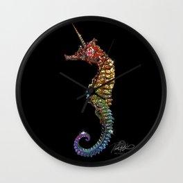Magical Seahorse Wall Clock