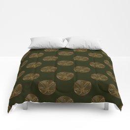 Golden Weed Comforters