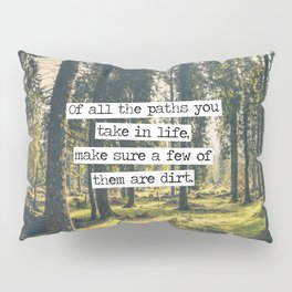 Dirt Paths Pillow Sham