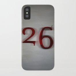 26 iPhone Case