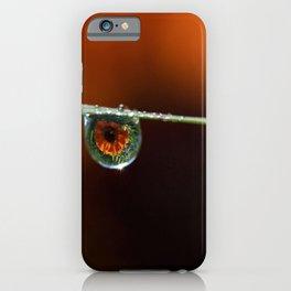 Marigolds in the rain iPhone Case