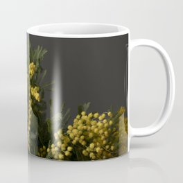 Yellow flowers in a vase Coffee Mug