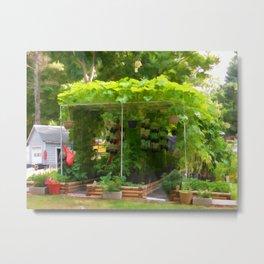 Organic Gardening 1 Metal Print