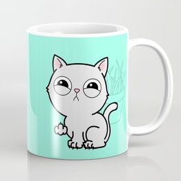 Kitty Knows Sign Language Coffee Mug