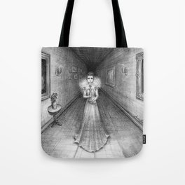 The White Lady Tote Bag