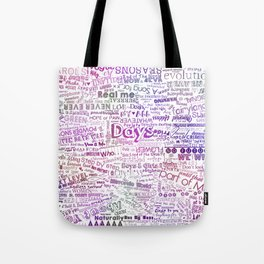 Under the same sky... (Color) Tote Bag