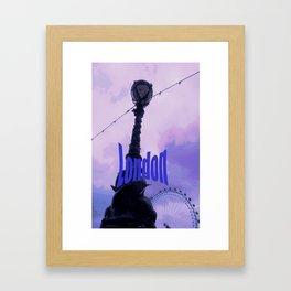 London Latern Framed Art Print