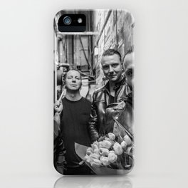blue october i hope you're happy tour 2019 sil1 iPhone Case