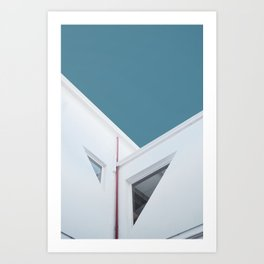 Minimal Architecture in Buenos Aires Art Print