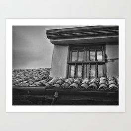 Look Through the Window Art Print