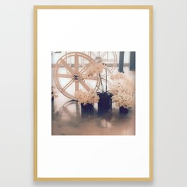 Coco No. 5 Floral Exhibit Framed Art Print