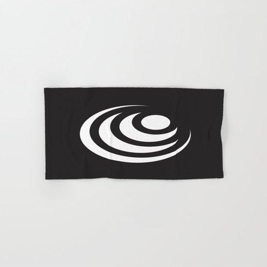 Circle In Circle In Circle Hand & Bath Towel