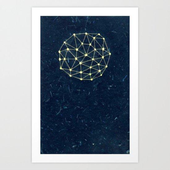 Night Constellation  Art Print