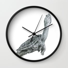 to be turtlely honest with you; i feel blue sometimes too Wall Clock