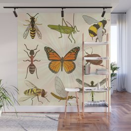 Insects on Parade Wall Mural