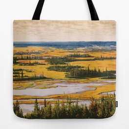 Wood Buffalo National Park Tote Bag