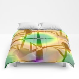 Pattern after earthquake ... Comforters