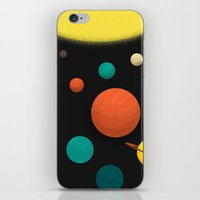 solar system iPhone & iPod Skins featuring Solar system by Sarajea