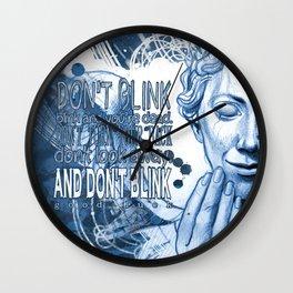Don't Blink! Wall Clock