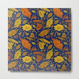 Bright Australian Native Floral Print Metal Print
