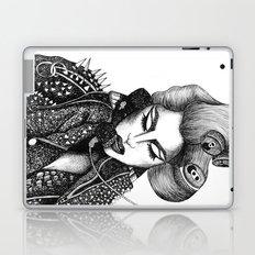 GIRL WITH A TELEPHONE Laptop & iPad Skin