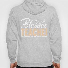 Blessed Teacher Back To School Teaching Distressed T-Shirt Hoody
