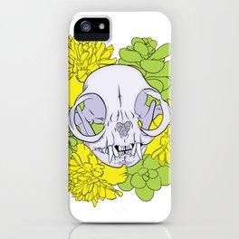 Persian Kitty Skull iPhone Case