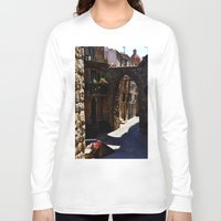 street Long Sleeve T-shirts featuring street by  Agostino Lo Coco