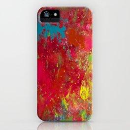 Tie-Dye Veins iPhone Case