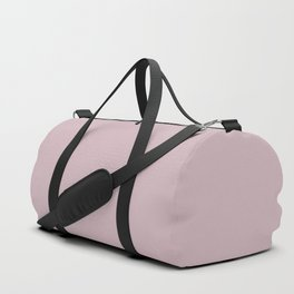 Sherwin Williams Trending Colors of 2019 Delightful (Pale Pastel Pink) SW 6289 Solid Color Duffle Bag
