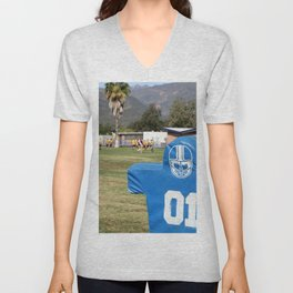 Football Dummy Unisex V-Neck