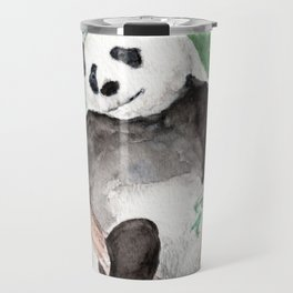 Panda, Hanging Out Travel Mug