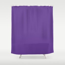 Deep Ultra Violet 2018 Fall Winter Color Trends Shower Curtain
