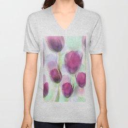 Tulip Fever Unisex V-Neck