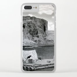 IN THE GRAND CANYON Clear iPhone Case